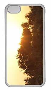 Customized iphone 5C PC Transparent Case - Sunrise 11 Personalized Cover
