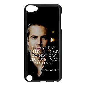 Paul Walker The Unique Printing Art Custom Phone Case for Ipod Touch 5,diy cover case ygtg-813741