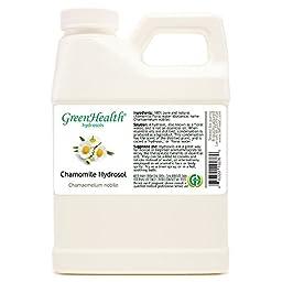 Chamomile Hydrosol - 16 fl oz Plastic Jug w/ Cap - 100% pure, distilled from essential oil