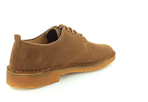 Scarpe Oxford Cola Suede modello Desert London Clarks gOPqB8B