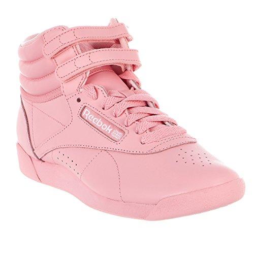 Reebok Womens F / S Hi Colori Sneaker Squad Rosa / Bianco