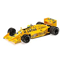 Minichamps 1/18 Scale Diecast 540 871812 Lotus Honda 99T F1 Ayrton Senna 1987