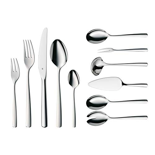 WMF Cutlery Set 66-Piece for 12 People Boston Cromargan 18/10 Stainless Steel Polished