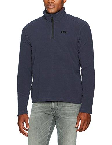 Helly Hansen Men's Daybreaker Half-Zip Fleece, 994 Graphite Blue, Large ()