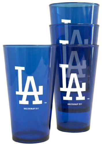 Los Angeles Dodgers Plastic Pint Glass (Los Angeles Dodgers Glass)