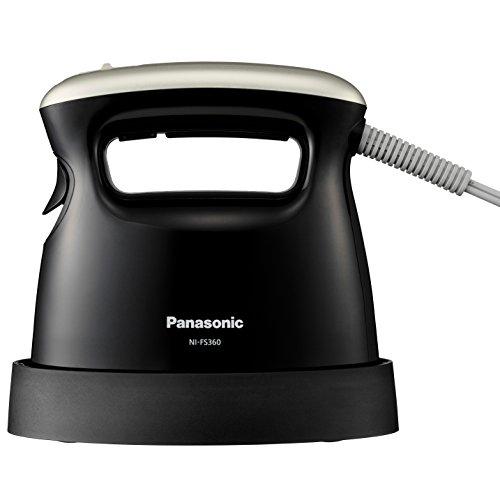 #本站首晒# 卡哇伊小家电:Panasonic 松下 NI-FS360-K 迷你蒸汽电熨斗