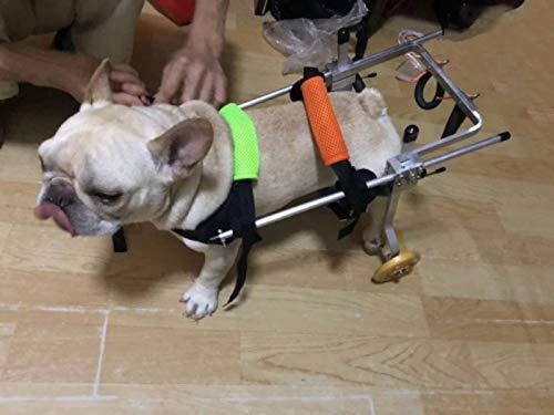 Perro silla de ruedas para perros scooter coche miembro trasero rehabilitación scooter deshabilitado gato asistencia pequeño soporte para patas traseras ...