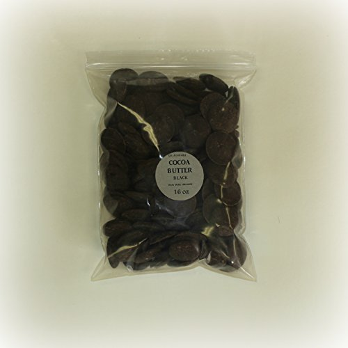 Dark/Black Cocoa Butter Unrefined Wafers Form Pure & Orga...