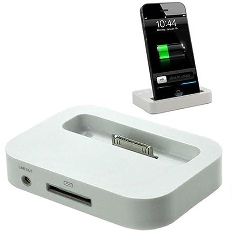 iPhone 4 Charging Dock Desktop Charger Docking Station for ...