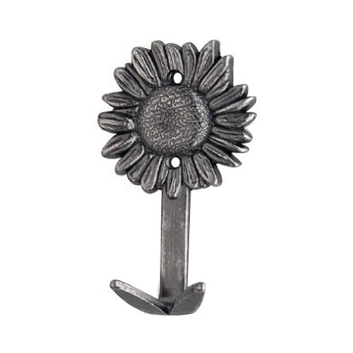 Siro Designs SD78-106 Antique Flower Hook Knob, ()