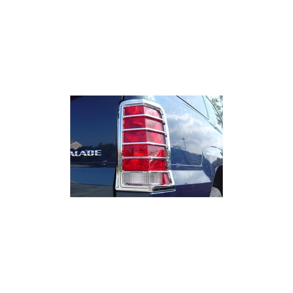 CADILLAC ESCALADE SUV 02 06 Chrome Tail Light Covers