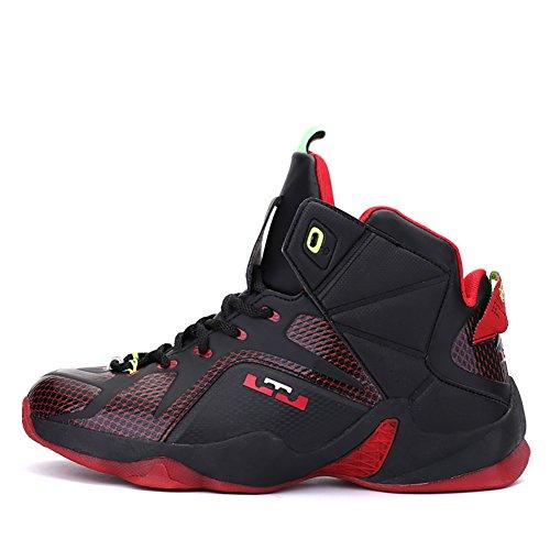 No.66 Mens Da Uomo Scarpe Da Corsa Sneaker Da Uomo Con Sneaker Nero Rosso