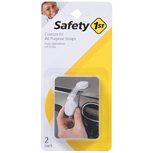 Safety 1st Adjustable Multi-Purpose Strap Pack of 6 Staps