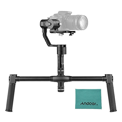 Zhiyun Crane V2 3 Axis Stabilizer Handheld Gimbal with Dual Handheld Grip for Sony A7 Series Panasonic Lumix Series Canon M Series Nikon J Series Mirrorless ILDC Cameras load Weight 350g-1800g