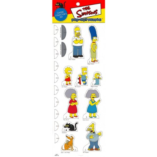 Simpsons Pop-Out People #1: -