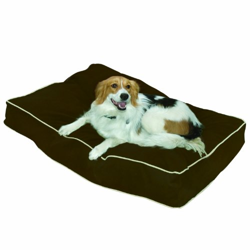 Buster Dog Bed, 24 by 36-Inch Small, Chocolate, My Pet Supplies