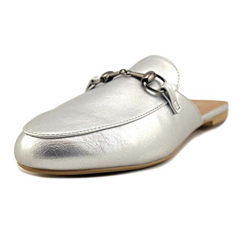 Wanted Shoes Frauen Loafers Silver