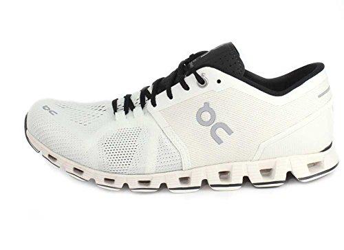 On Running Herren Cloud x Schuhe Sneaker Freizeitschuhe Sportschuhe Neu white-black