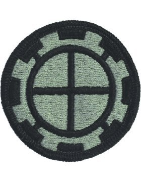 Engineer Brigade Patch - PV-0035B, 35th Engineer Brigade ACU Patch with Fastener (A-1-687) PATCHES & TABS-W/VELCRO