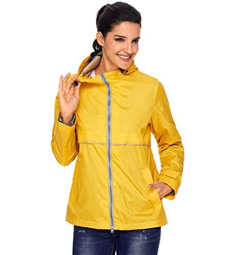 Antivento Alpinismo Giallo Cappotto Donna Giacca Da Impermeabile Solare Protezione Abbigliamento Outdoor HatFxXw