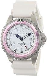 "Momentum Women's 1M-DV11WR1W ""M1 Twist"" Pink Bezel Stainless Steel Watch with Vanilla-Scented Band"