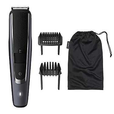 Philips-BT550216-Barbero-y-cortapelos-con-40-Posiciones-de-Longitud-Resistente-al-Agua-y-Cuchillas-metalicas-autoafilables-Negro