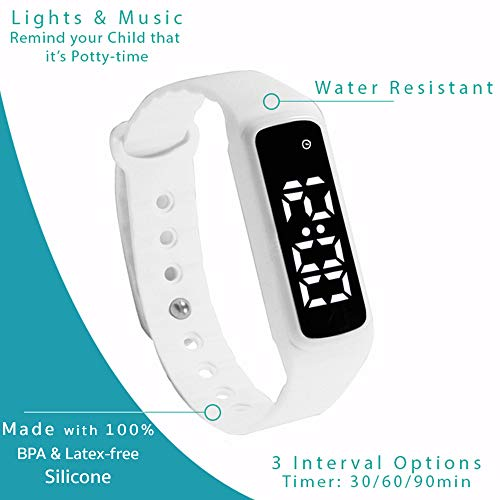 Potty Training Watch Baby Reminder Water Resistant Timer