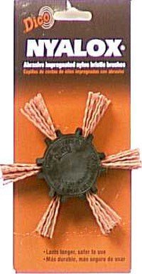 Dico 541-782-4 Nyalox Flap Brush 4-Inch Orange 120 Grit by Dico Products