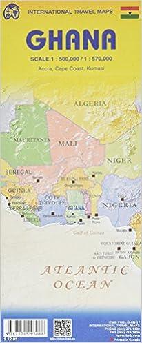 Ghana Travel Map Reference: ITMB Publishing: 9781771293068 ... on mauritania on map, nepal on map, guatemala on map, west africa map, borneo on map, egypt on map, belize on map, mali on map, madagascar on map, liberia on map, hungary on map, brazil on map, cuba on map, benin on map, zimbabwe on map, italy on map, indonesia on map, the gambia on map, nigeria on map, thailand on map,