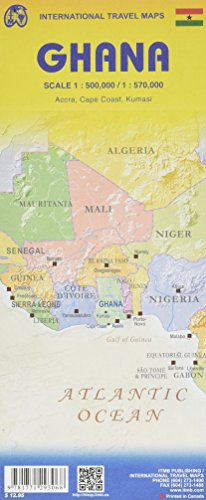 Ghana Travel Map Reference