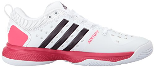 limited edition for sale clearance best prices Adidas Performance Women's Barricade Classic Bounce W Tennis Shoe White/Dark Burgundy/Energy Pink sale best wholesale free shipping 100% original footlocker cheap online mRV8TpYiq