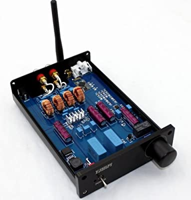 Amazon.com: YJ HiFi TPA3116 2.0 CH Class D 2x50W 100W Amp CSR4.0 Bluetooth Module Amplifier: Musical Instruments