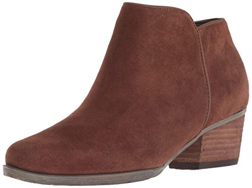 - Blondo Women's Villa Ankle Boot, Chestnut Suede, 9 M US