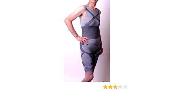 femeile bamboo charboo charoal slimming bodysuit review
