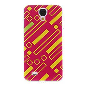 Colour Bars Pattern Plastic Protective Hard Back Case Cover for Samsung Galaxy S4 I9500