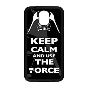 keep calm and use the force Phone Case for Samsung Galaxy S5 Case