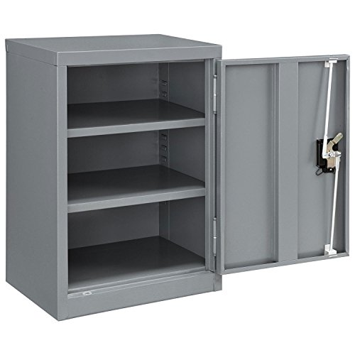Assembled Wall Storage Cabinet, 18x12x26, Gray by Global Industrial