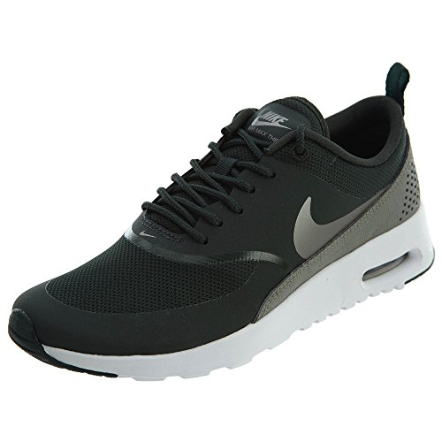 NIKE Women's Air Max Thea Running Shoe Outdoor Green/Metallic Pewter 2014 new cheap price footlocker finishline online clearance largest supplier 100% authentic sale online buy cheap shop for YtCluZXYE