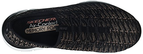Baskets 2 Black 0 Femme Gold Insights Appeal Skechers Flex Rose PHqwnX