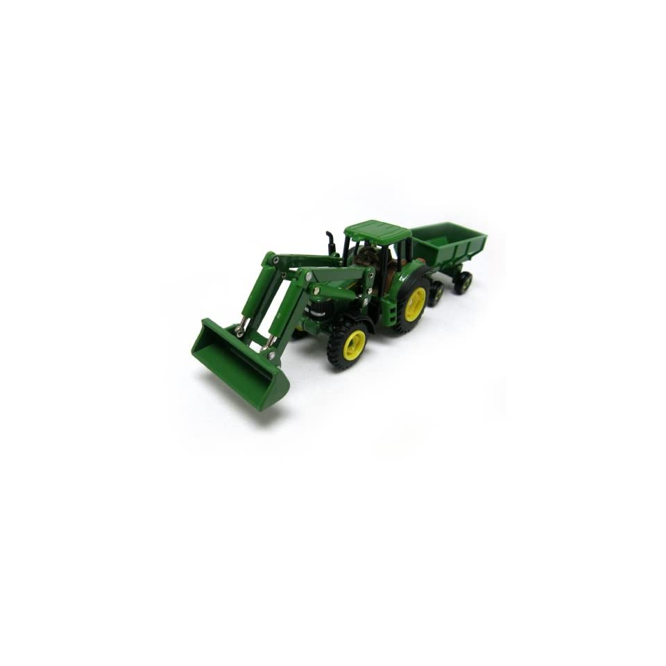 John Deere Tractor Loader with Flarebox Wagon Toys
