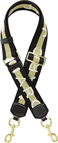 Marc Jacobs Women's Webbing Strap, Gold Multi, One Size (Jacobs Gold Marc)