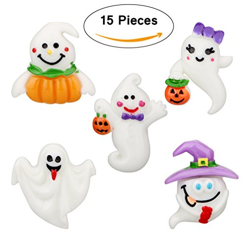 15Pcs Halloween Decorative Push Pins Creative Specter Pins Ghost Tacks Pumpkin Thumb Tacks Novetly