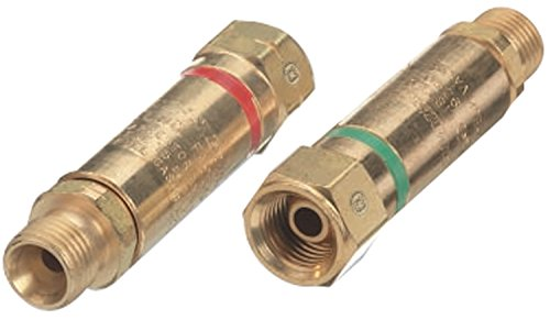 Set Arrestor Flashback - Western Enterprises FA-30 Flashback Arrestor Sets, Oxygen/Fuel Gas, Regulator Adaptor