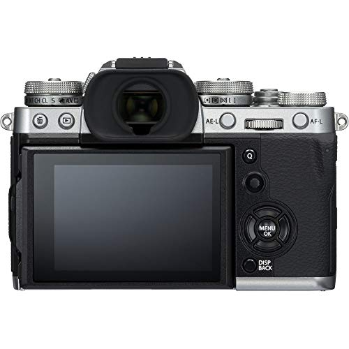 FUJIFILM X-T3 Mirrorless Digital Camera with 18-55mm Lens (Silver) w/Deluxe Striker Kit
