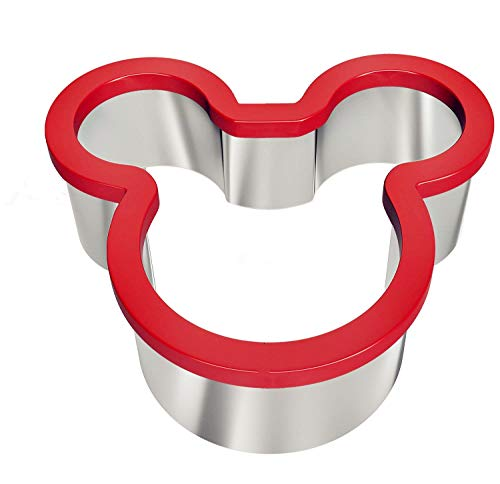 Christmas Holiday Stainless Steel Sandwich Cutter Biscuit Mold Cookie Cutter (Mickey Mouse) ()