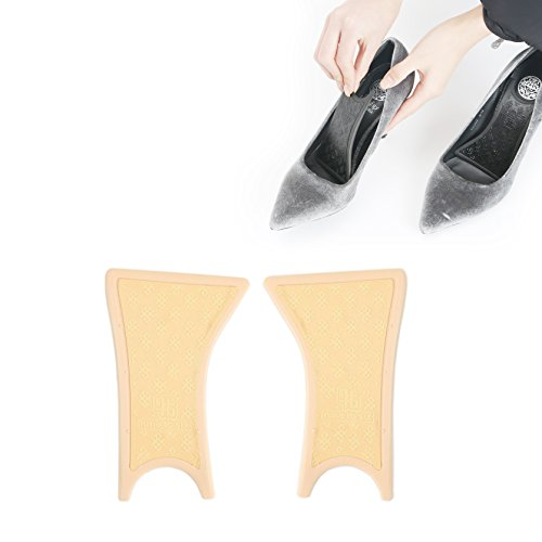 (9to6 Arch Supports for High Heel Shoes (Ivory, Low Arch (4 mm)))