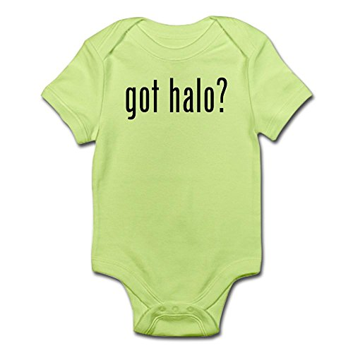 CafePress - got halo? Infant Bodysuit - Cute Infant Bodysuit Baby Romper (Halo Suits For Kids)
