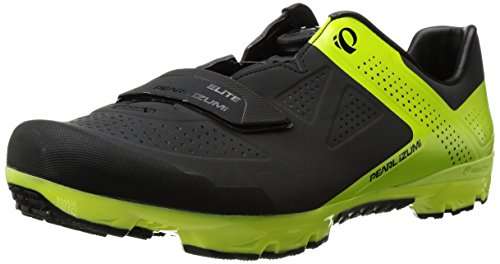 Pearl Izumi Men's X-Project Elite Cycling Shoe, Black/Lime Punch, 45.5 EU/11.2 D US