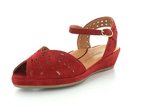 L`Amour Des Pieds Womens Brenn Scarlet Sandal - 9.5 M