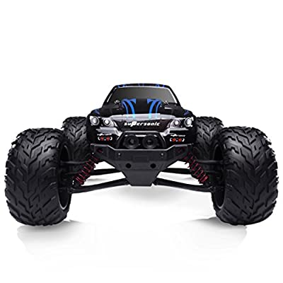 HOSIM All Terrain RC Car S911, 33+MPH 1/12 Scale Radio Controlled Electric Car - Offroad 2.4Ghz 2WD Remote Control Truck - Best Christmas Gift for Kids and Adults (Blue)